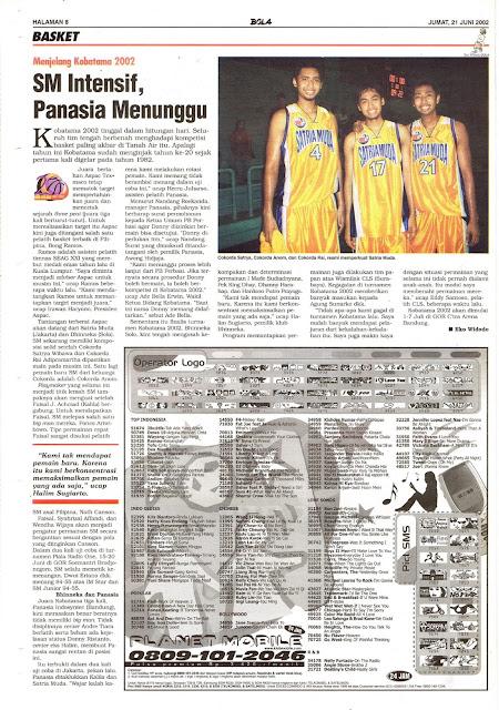 MENJELANG KOBATAMA 2002 SM INTENSIF, PANASIA MENUNGGU
