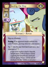 My Little Pony Saving the Day Equestrian Odysseys CCG Card