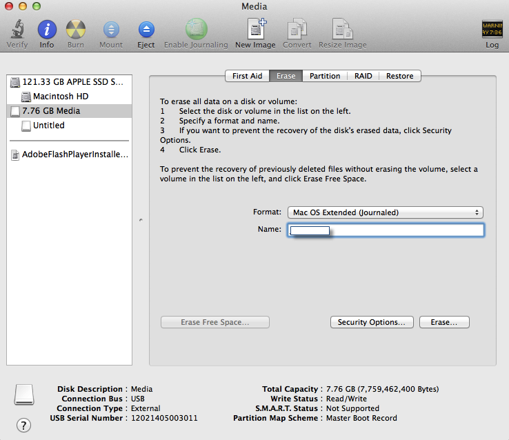 Create Bootable USB OS X Yosemite Now