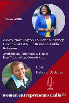 ashley northington on women entrepreneurs radio