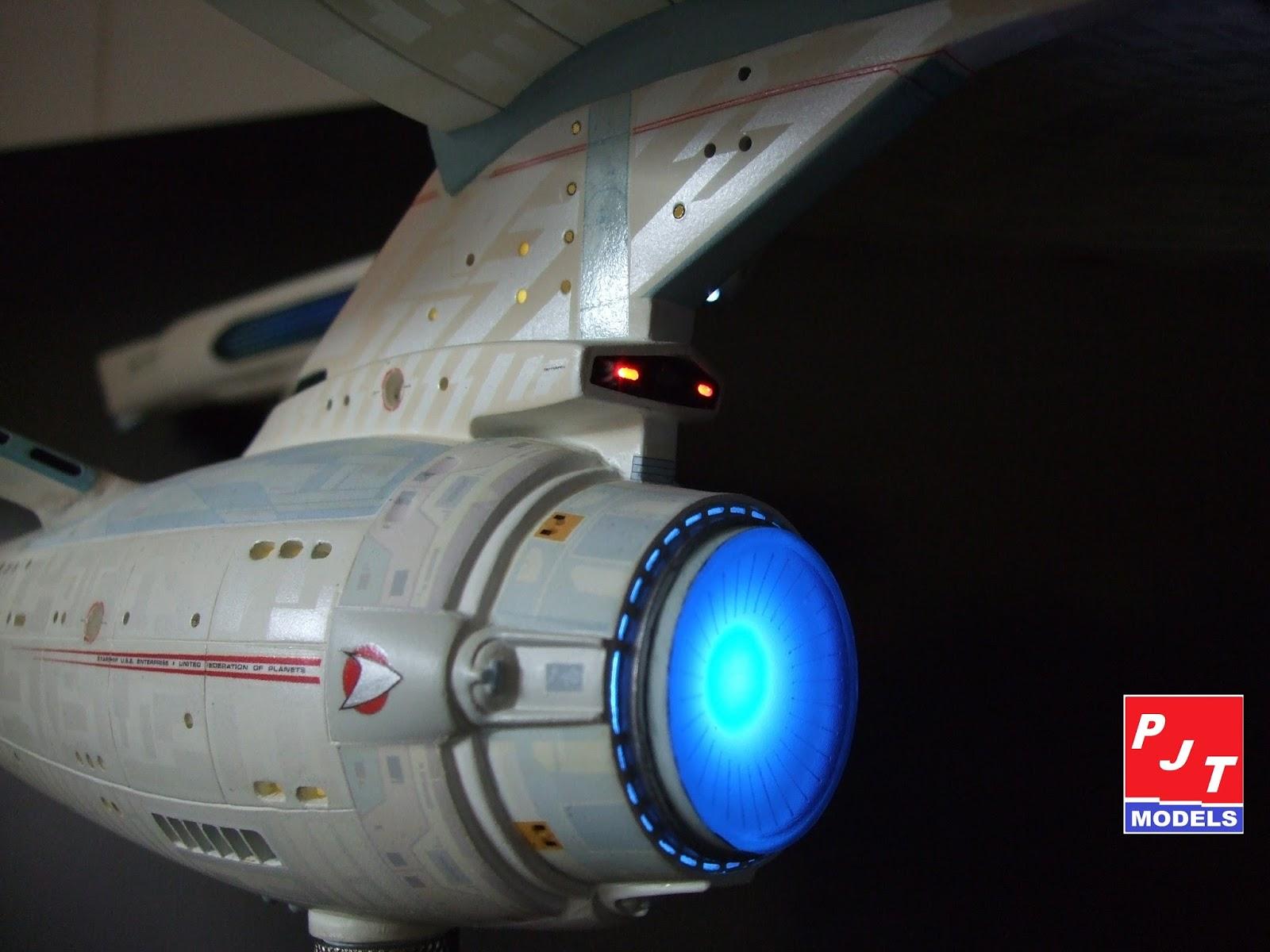 Star trek uss enterprise ncc refit 1 scale model - Amt Ertl 1 537 Star Trek U S S Enterprise Refit Ncc 1701 A