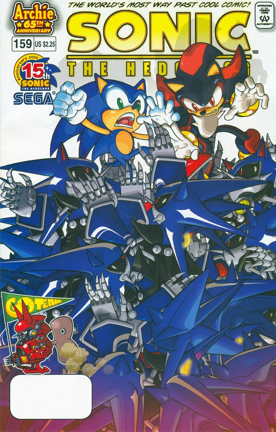 Read online Sonic The Hedgehog comic -  Issue #159 - 1