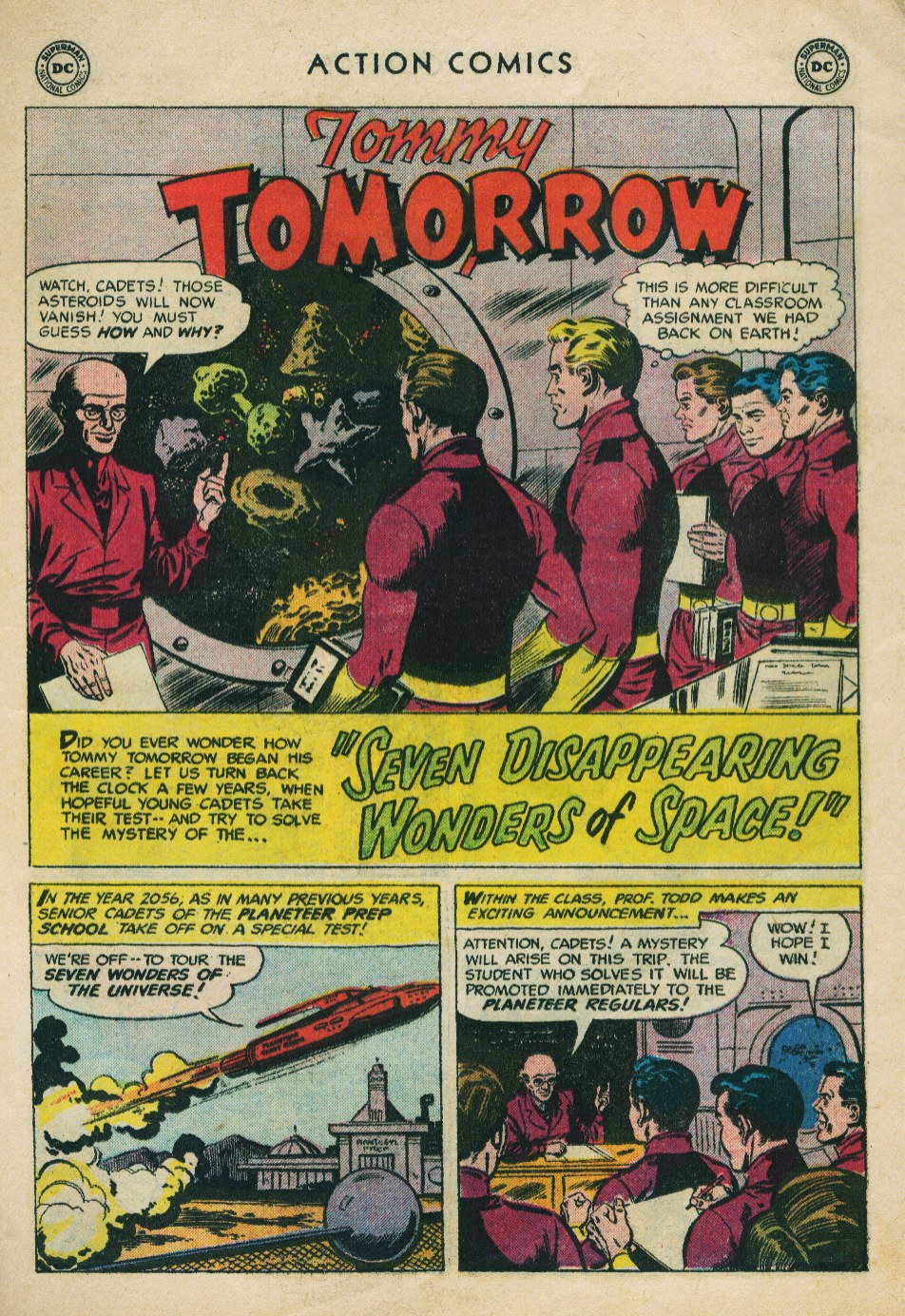 Read online Action Comics (1938) comic -  Issue #224 - 27