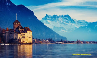 Lake Geneva Switzerland