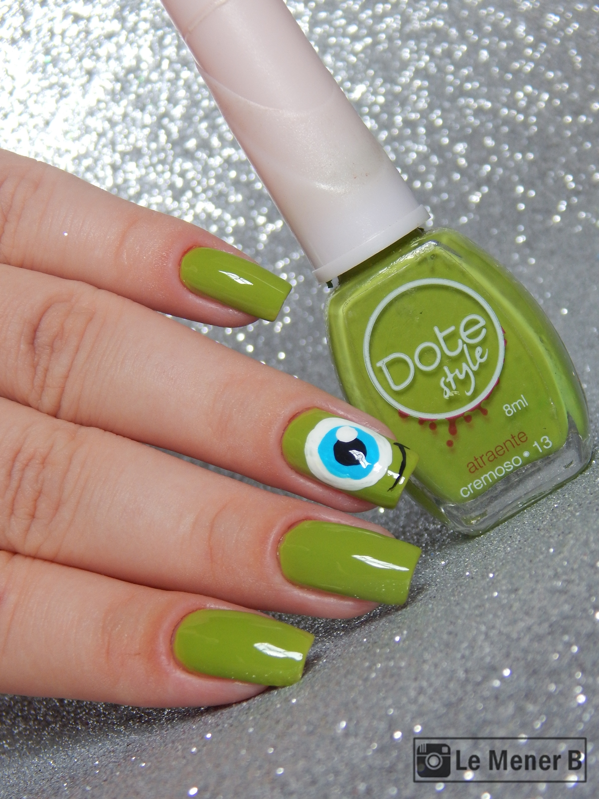 Attractive Mike Wazowski Nails Pictures - Nail Polish Ideas ...