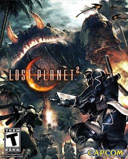 Lost Planet 2 cover 2