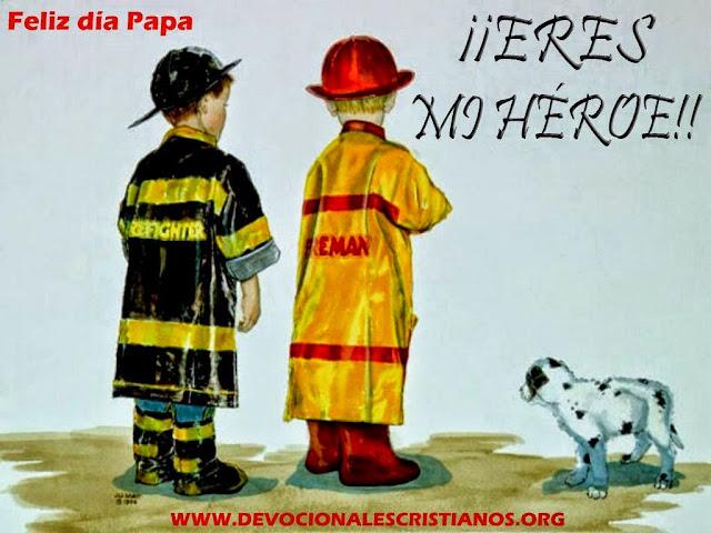 imagen papa eres mi heroe