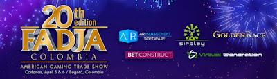 FERIA Americana de juegos de AZAR 2018 Versión No. 20