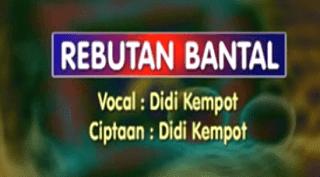Lirik Lagu Rebutan Bantal - Didi Kempot