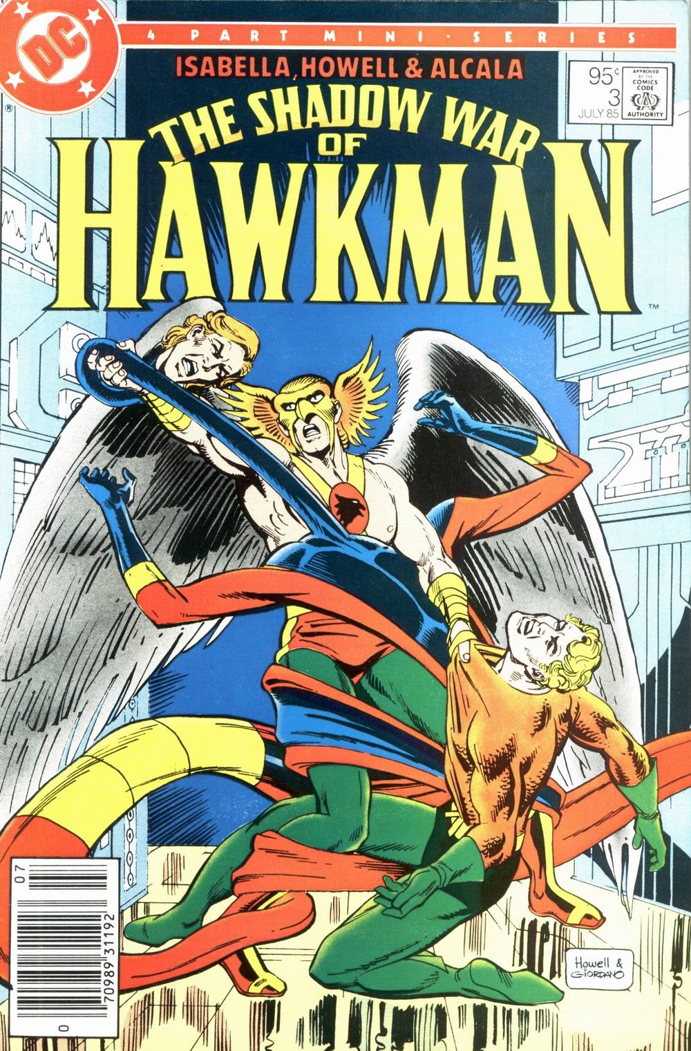 The Shadow War of Hawkman 3 Page 1