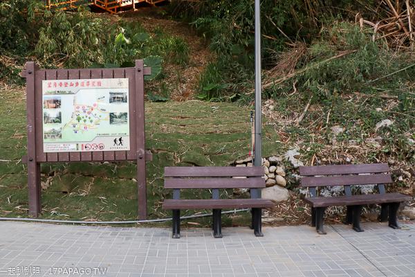 望月峰獻堂登山步道|觀景台飽覽街景和夕陽夜景,霧峰林家萊園旁