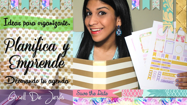 Gissell De Jesus: Decora tu Agenda con mis Labels - Ideas para ...