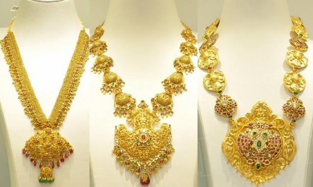Gold Long Chains By Srikrishna Jewellers Jewellery Designs