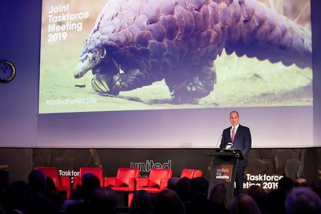 Książę William na konferencji End Wildlife Crime