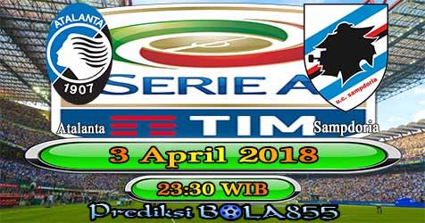 Prediksi Bola855 Atalanta vs Sampdoria 3 April 2018