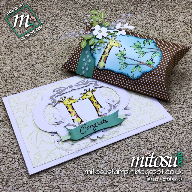 Stampin' Up! Animal Outing with Blended Seasons Bundle. Order supplies from Mitosu Crafts UK Online Shop