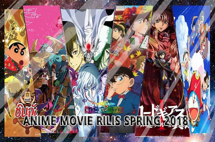REKOMENDASI 17 Anime Movie Terbaik Rilis Spring 2018 List Lengkap