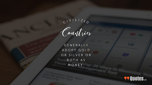 fact about civilization and money