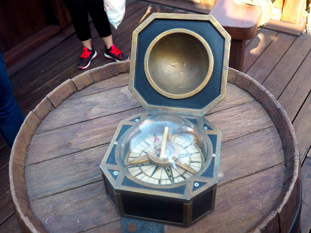 Captain Jack Sparrow's compass in Treasure Cove, Shanghai Disneyland, China