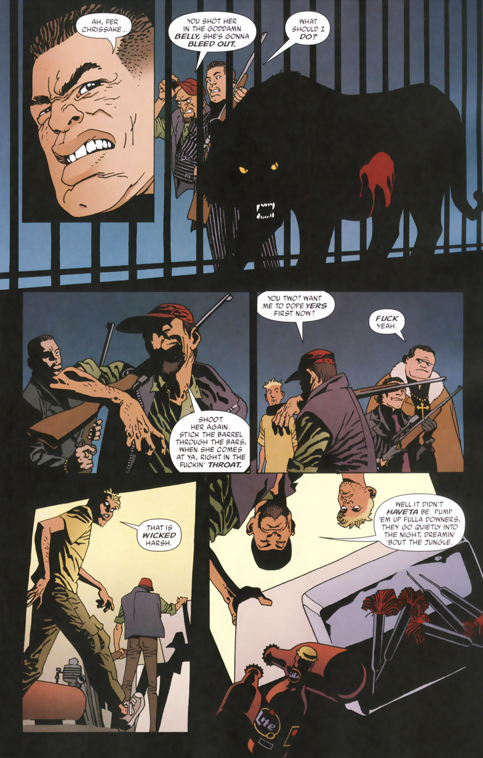 Read online 100 Bullets comic -  Issue #48 - 14