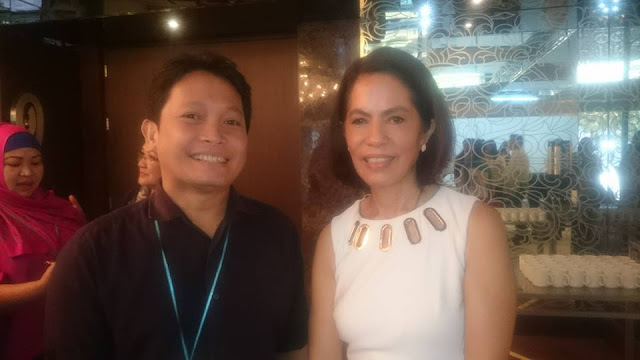 Gina Lopez, ABS-CBN Foundation's Managing Director, supports Duterte - report