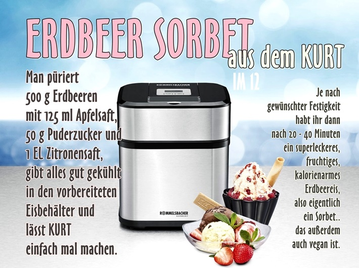Giveaway DIY vonKarin Eismaschine ice maker DIY