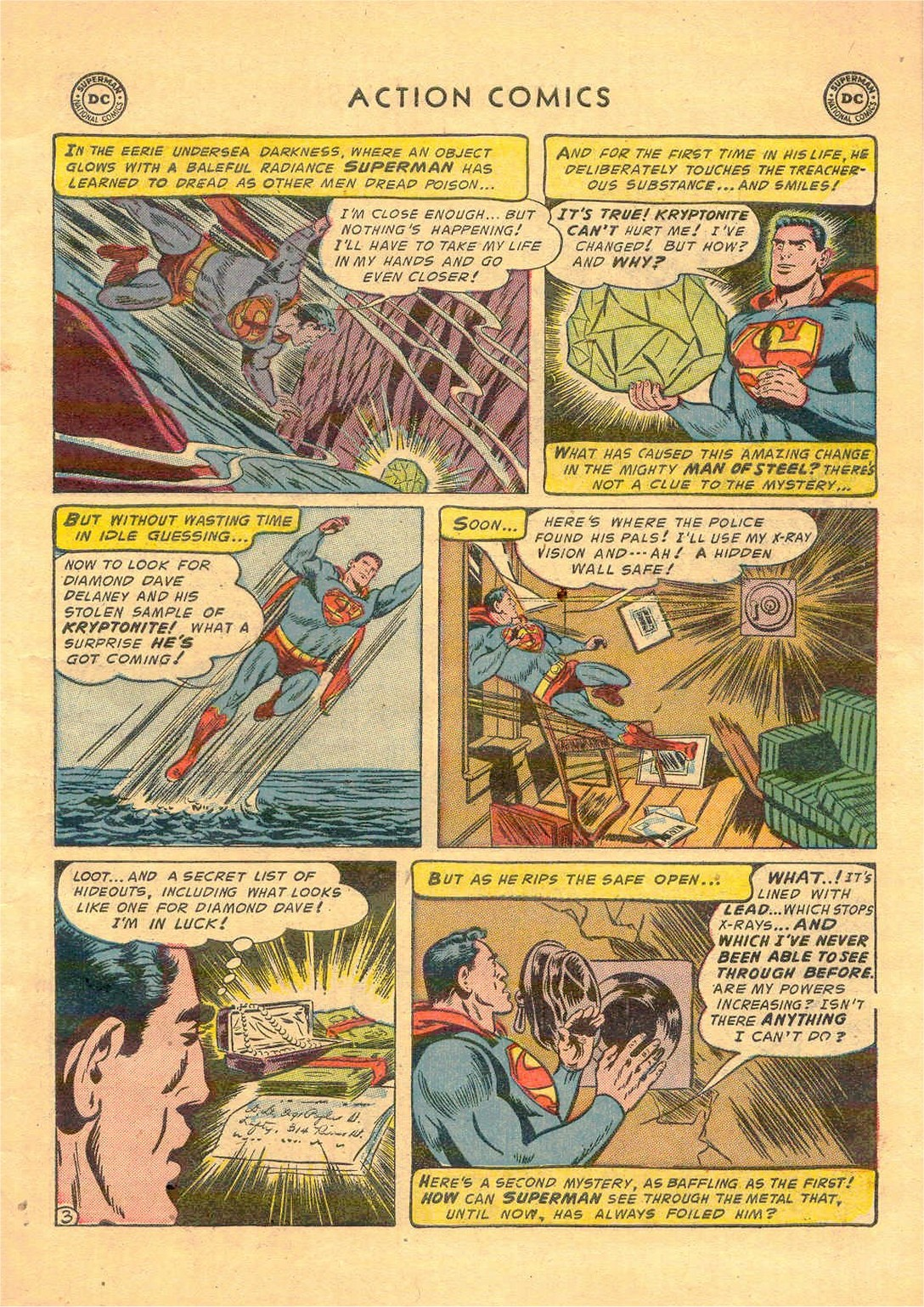 Read online Action Comics (1938) comic -  Issue #181 - 4