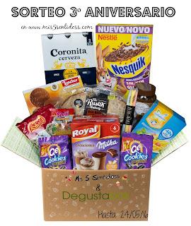 Ganador@s 3º Aniversario Sorteos Dermakosmetic y Degustabox