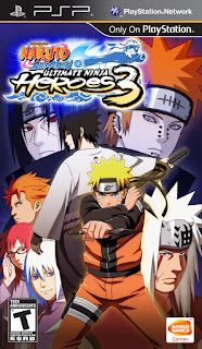 Game Naruto Shippuden Ultimate Ninja Heroes 3 ISO PPSSPP Download