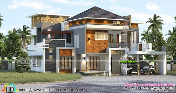 3220 square feet 4 bedroom stylish elegant house