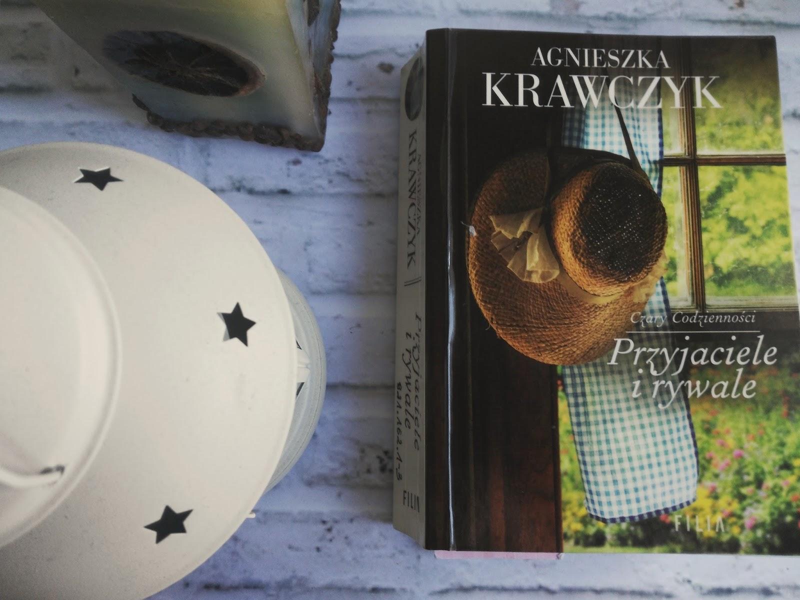 Przyjaciele i rywale,  Agnieszka Krawczyk -recenzja