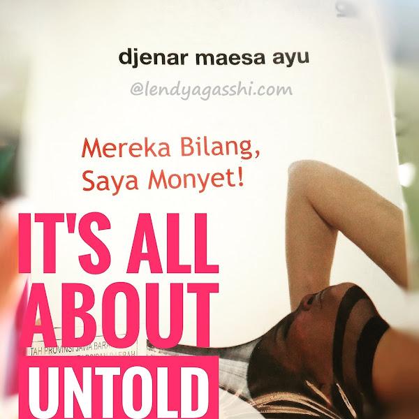 [Book's Review] Mereka Bilang, Saya Monyet!