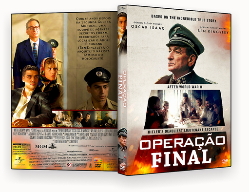 CAPA DVD – Operação Final DVD-R