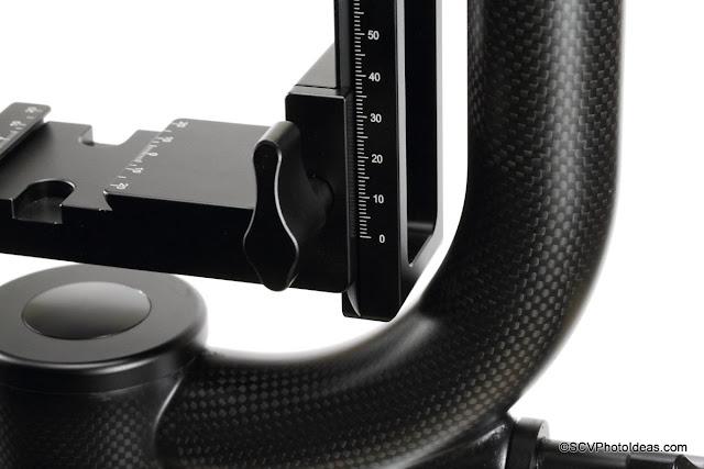 Sunwayfoto GH-01 Carbon fiber Gimbal Head cradle