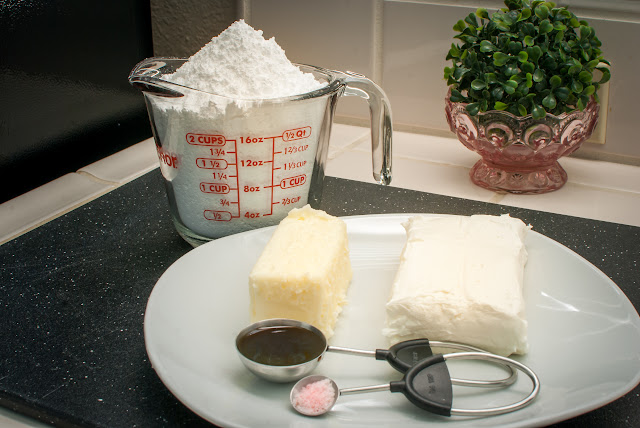 Cream Cheese Frosting Recipe Ingredients