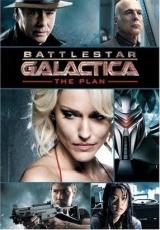 "Carátula del DVD: ""Battlestar Galactica: el Plan"""