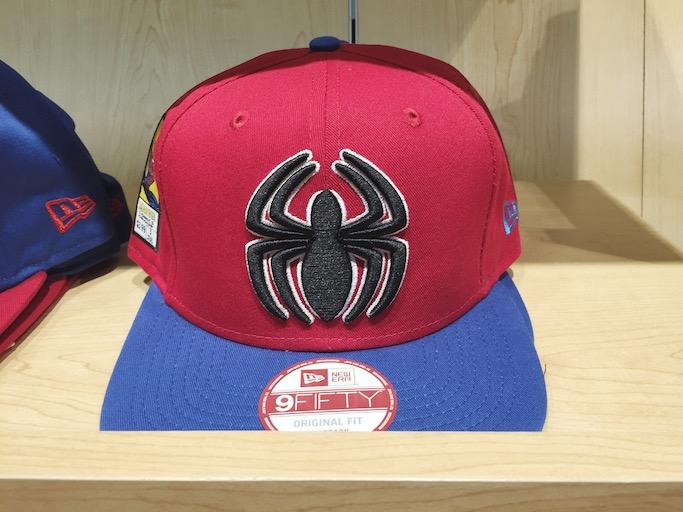 new style 51e5a bca99 4) Spiderman Marvel Hero Viza Fill 9FIFTY Snapback Cap