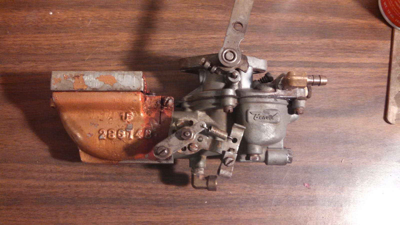 I had occasional starting problems with the Atomic 4. The dirty carburetor  appears to be the culprit.