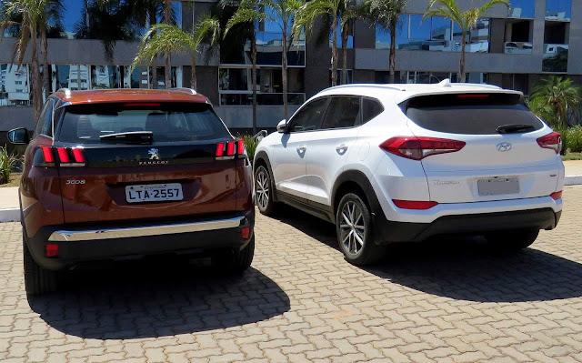 Novo Peugeot 3008 2018 x Hyundai New Tucso 2018