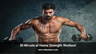 30 Minute at Home Strength Workout