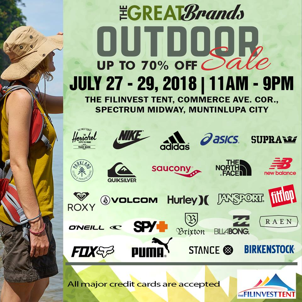 c8290a0147ff Striptop Outlet Store (SOS) will storm the Filinvest Tent in Alabang