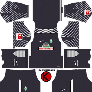 SV Werder Bremen Kits 2017/18 - Dream League Soccer