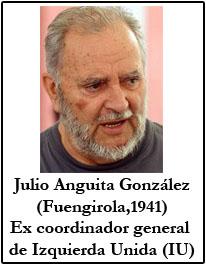 Julio Anguita Ex lider de Izquierda Unida
