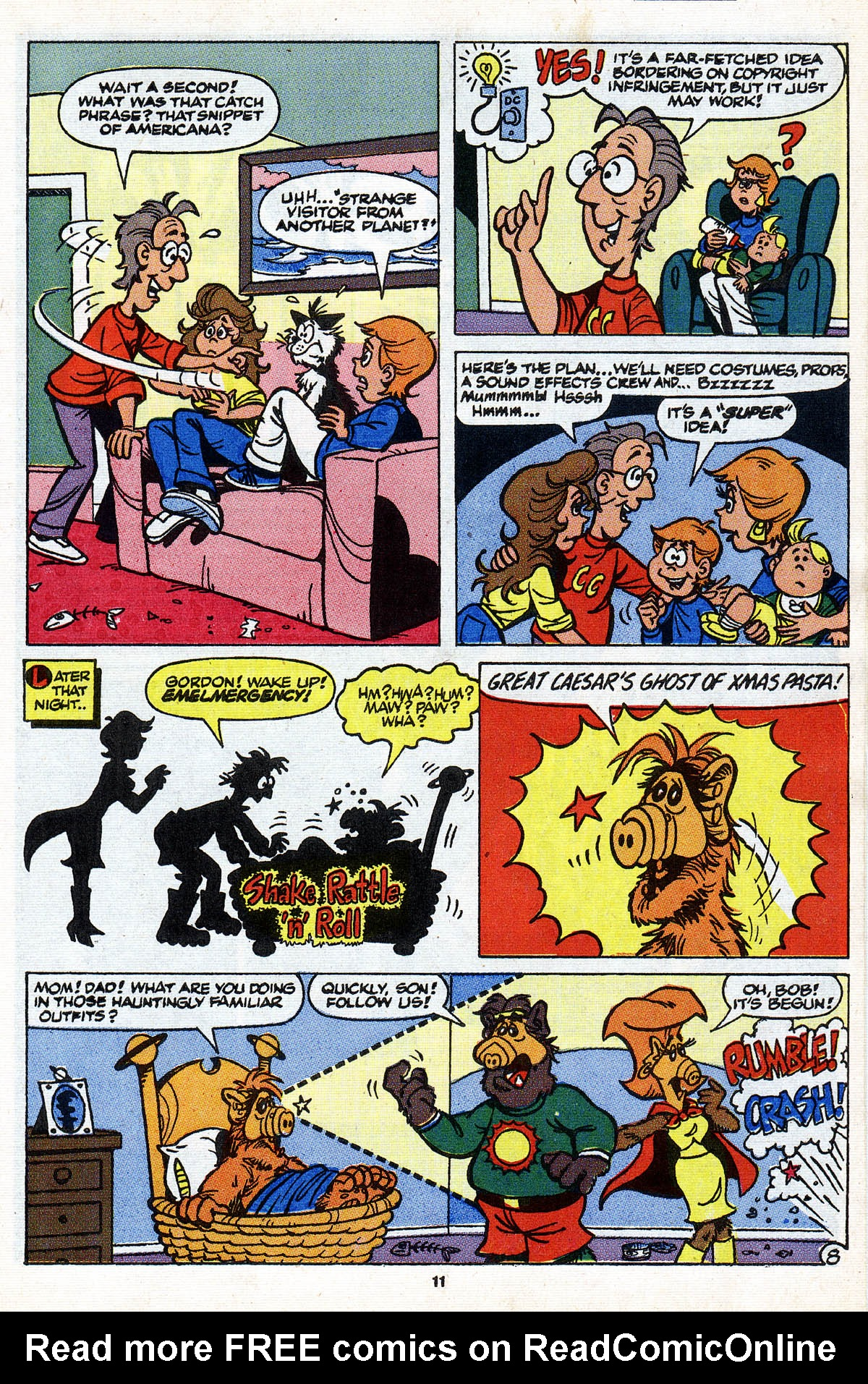 Read online ALF comic -  Issue #28 - 13