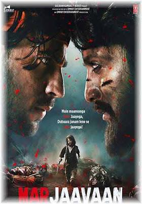 Marjaavaan 2019 Hindi 720p WEB HDRip Poster