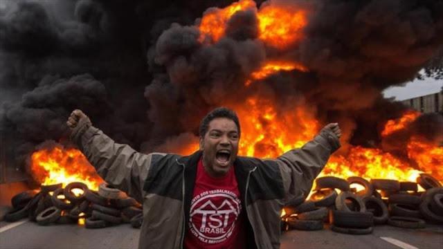 Brasileños rechazan vista gorda de Congreso a corrupción de Temer