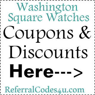 WashingtonSquareWatches.com Promo Codes, Coupons & Discount Codes 2018-2019 Jan, Feb, March, April, May, June, July, Aug, Sep, Oct, Nov, Dec