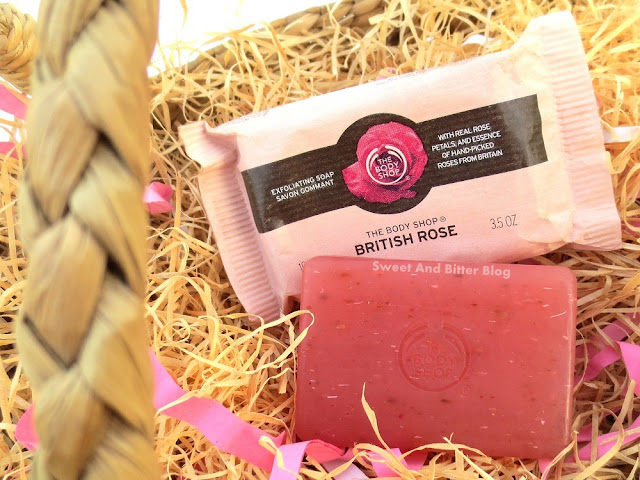 The Body Shop British Rose Exfoliating Soap Review