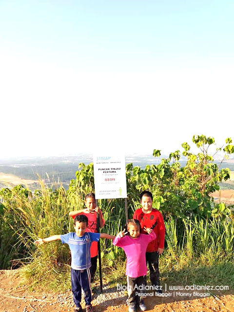 Riadah Keluarga | Tewas Dengan Anak-Anak Mendaki Bukit Broga