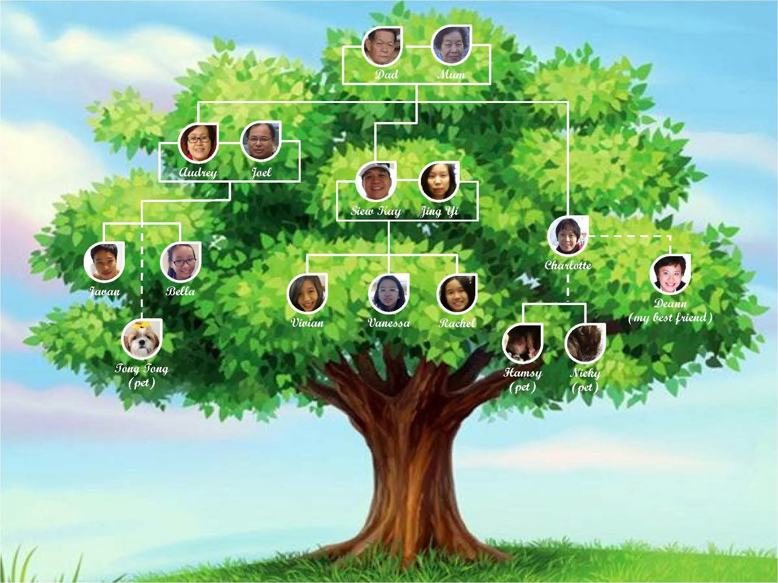 Kitchen Cabinet Government Family Tree